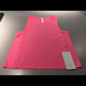 Lululemon Sole Training Tank Flash Light NWT